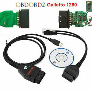 Eobd Obd2 Galletto 1260 Ecu Chip Tuning Interface Car Programme Diagnostic Cable