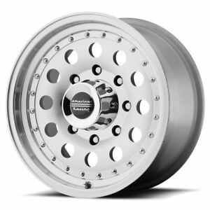 4 New 17x8 0 American Racing Outlaw Ii Machined 8x165 1 Wheels Rims