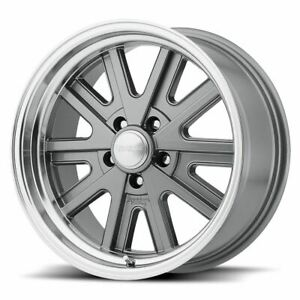 4 New 17x9 0 American Racing Vn527 Mag Gray 5x127 Wheels Rims