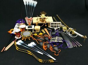 Lot Of 38 Vintage Accessories Accessory For Japanese Hina Dolls