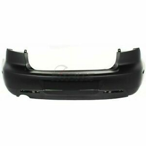 New Rear Bumper Cover Without Spoiler Holes For 2004 2006 Mazda 3 Ma1100174