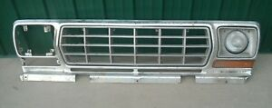 1978 79 Ford Truck F 150 350 Bronco Grille Assembly Oem 1978 1979