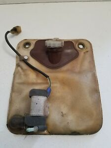 1982 1985 Toyota Celica Supra Rear Window Washer Bottle Bag Pump Sprayer
