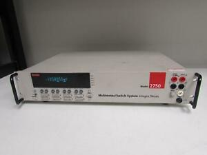 Keithley 2750 Data Acquisition System Dmm