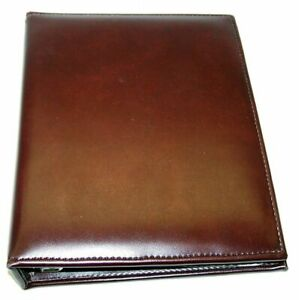 Franklin Day Planner Small 7 Ring 1 Maroon Burgundy 9 5 X 7 5 X 2 Inches Nice