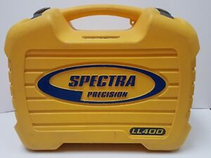 Spectra Ll400 Laser Level Case case Only Used
