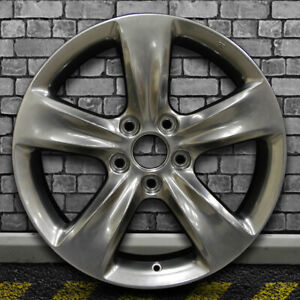 Full Face Hyper Bright Smoked Silver Oem Wheel For 2012 2014 Acura Tl 18x8