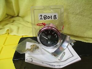 Automotive Electric Fuel Level Gauge 2801b 2 1 16 Diameter Gas Make Waves