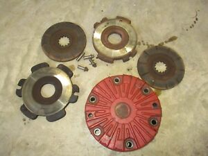 International Farmall 856 1206 1256 Used Brake Drum Friction Disc Plates