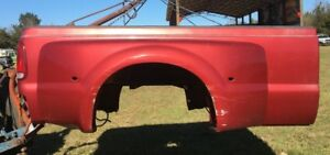 1999 2010 Ford F350 Maroon Red Dually Long Wheel Base Bed Fenders Fender