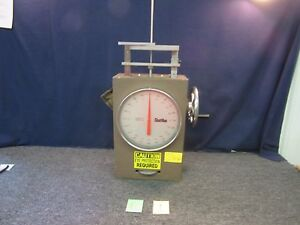 Chatillon Spring Tester Weigh Tube Scale Materials Test Compression Military