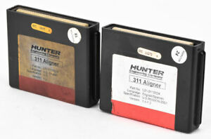 Lot 2 Hunter 311 Aligner L01 0110024 English Spanish Alignment Machine Cartridge