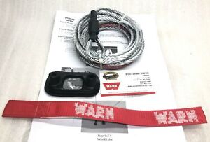 Warn 76065 Pullzall Replacement Cable 7 32 X 15