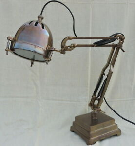 Led Piano Desk Lamp Antique Brown Contemporary Desk Light Height 24 In