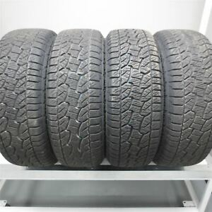 265 65r17 Hankook Dynapro Atm 112t Tire 12 32nd Set Of 4 No Repairs