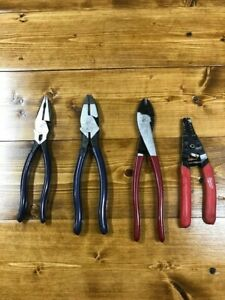 Klein Tools Pliers Crimpers And Strippers