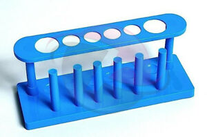 Test Tube Stand Plastic pack Of 12 Pcs Free Shipping World Wide