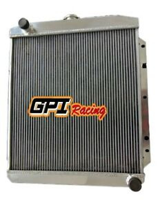 For 1950 1952 Buick v8 Special Super Roadmaster Mt Aluminum Radiator 62mm