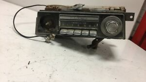 1968 Oldsmobile Am Radio With Bezel And Knob Non Tested