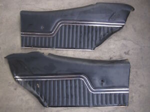 1970 71 72 Chevelle Malibu Ss Supersport Oem Coupe Rear Door Panels Gm