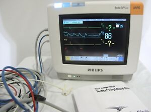 Philips Intellivue Mp5 Ecg Touchscreen Patient Monitor