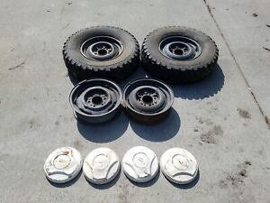 Vintage Chevy Truck Wheels And Caps
