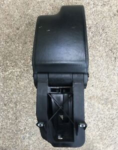 00 05 Bmw E46 330 328 325 Center Console Black Leather Arm Rest Assembly Oem
