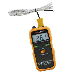 Digital Thermocouple Thermometer Wireless K Type Temperature Meter K02 Probe