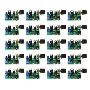 20x Lm386 Audio Amplifier Board Dc3 12v Stereo Amp Module Single channel