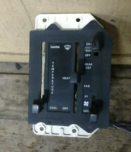 Ford Exp Climate Control Oem 1983