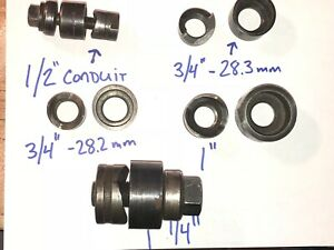 Greenlee Conduit Knockout Punch Set 1 2 3 4 1 1 1 4