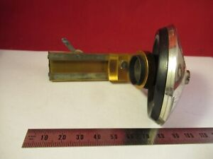 Antique Ernst Leitz Germany Nosepiece Stage Microscope Part Optics As Pic 9 a 80