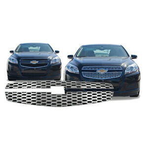 Chrome Grille Overlay For 2013 Malibu Ls 1lt 2lt Iwcgi107