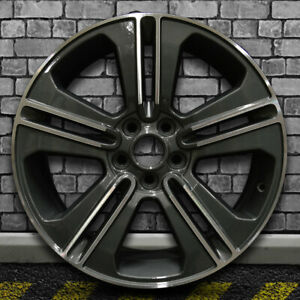 Machined Dark Blueish Charcoal Oem Wheel For 2013 2014 Ford Mustang 19x8 5
