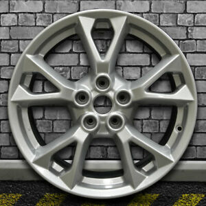Full Face Bright Sparkle Silver Oem Wheel For 2012 2015 Nissan Maxima 18x8