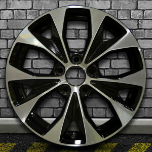 Machined Black Oem Factory Wheel For 2012 2013 Honda Civic 17x7