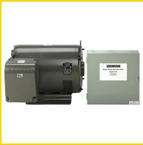 R 75 75 Hp 220 Vac Phase a matic Rotary Phase Converter