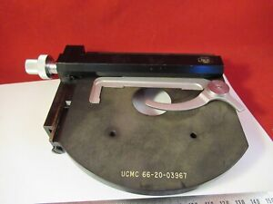 Carl Zeiss Germany Table Stage Clips Microscope Part Optics p8 a 02