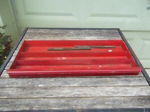 Vtg Snap On Tools Kra 58b 9 Nine Drawer Tool Chest Upper Full Drawer