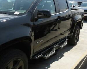 7 5 Nerf Bars For 15 19 Chevrolet Colorado Gmc Canyon Crew Cab Running Boards