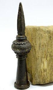 Indian Antique Rusty Iron Spear Unique Pike Dagger Rare Collectible G25 255 Us