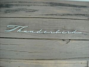 Ford Thunderbird Chrome Fender Emblem