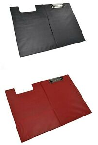 Folder Clipboard Foolscap A4 Size Document Holder Red And Black Color