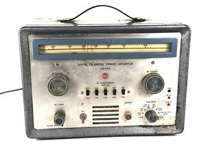 Wr 99a Vintage Rca Crystal Calibrated Marker Generator Model Wr 99a Steampunk