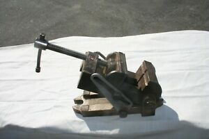 Vintage Craftsman 2 1 2 Jaw Angle Vise Tilting Drill Press Machinist Vice
