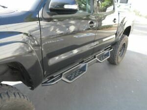 7 5 Nerf Bars For 05 21 Toyota Tacoma Double Crew Cab Side Steps Running Boards
