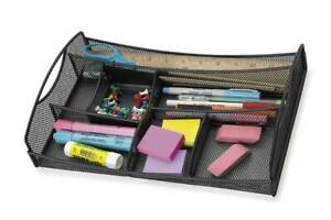 Onyx Mesh Drawer Organizer In Black id 36925