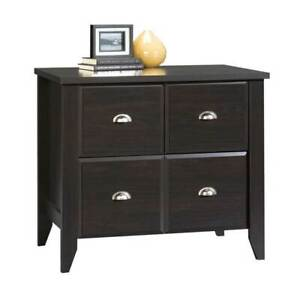 Shoal Creek Lateral File Cabinet In Jamocha Wood Finish id 100914