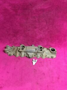 Fenton Aluminum 2x2 Intake For Ford Flathead V8 Engine Hot Rod Rat Model A Coupe