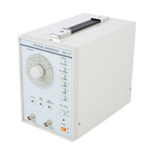 Tsg 17 High Frequency Signal Generator Rf radio frequency 220v 110v Sl